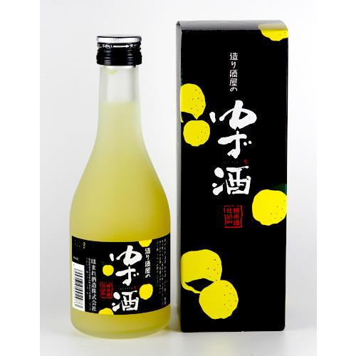 会津ほまれ 造り酒屋のゆず酒 純米酒仕込み 300ml