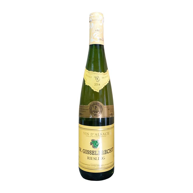 しっかりした辛口スタイルのワイン ウィリ ギッセル ブレッシュトゥ 750ml ふるさと割 2014 リースリング 超激得SALE