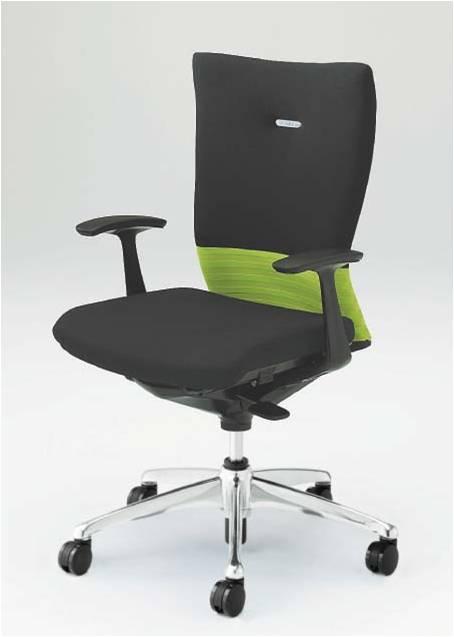 オフィスチェア フィーゴ シームレスタイプ ハイバック デザインアーム オカムラ CJ45BR
