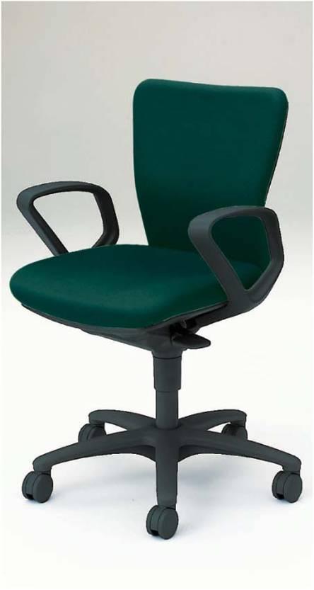 事務用椅子 カロッツァ ローバック 肘付き ブラックシェル オカムラ CK43ZR