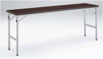 折りたたみテーブル 棚なし オカムラ 8185KA