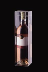 お酒やジュースなどの飲み物用ボトルの透明ケースパッケージ シャープケース No.4 100個セット 720ml 瓶 クリア 透明 ラッピング 箱 激安通販 ワイン ギフト コレクション お酒 毎日続々入荷 ケース