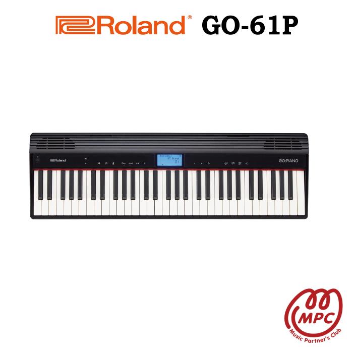 Roland GO:PIANO GO-61P Roland 電子キーボード 電子キーボード ローランド【宅配便】【お取り寄せ GO-61P】, ロッソエブルー:c660ddcf --- vidaperpetua.com.br