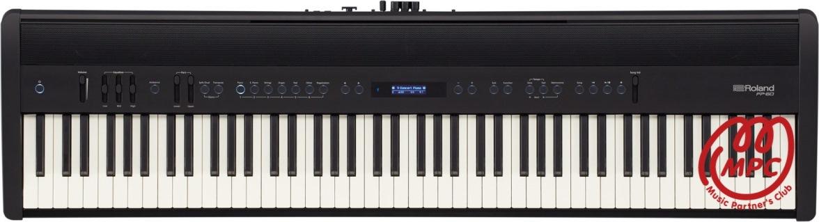 【送料無料】電子ピアノ FP-60-BK Roland(ローランド)【お取り寄せ】【宅配便】