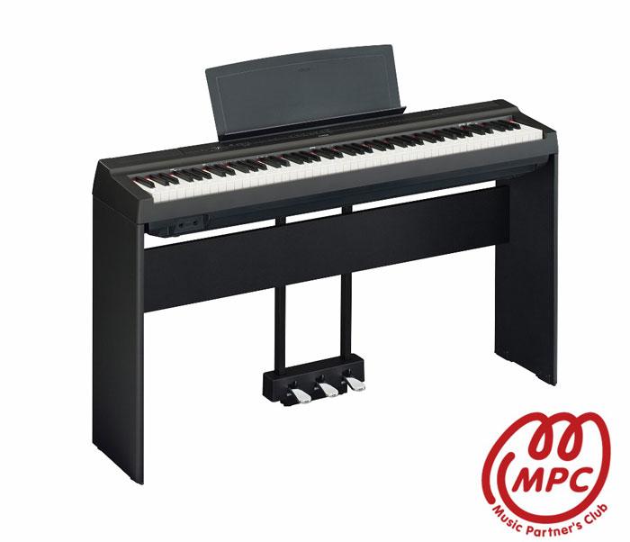 電子ピアノヤマハ P-125BK【宅配便】【お取り寄せ】