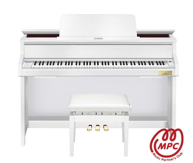 【設置送料無料】【イス付】電子ピアノ CELVIANO Grand Hybrid ピアノ GP-300WH CASIO(カシオ)【配送業者】【お取り寄せ】
