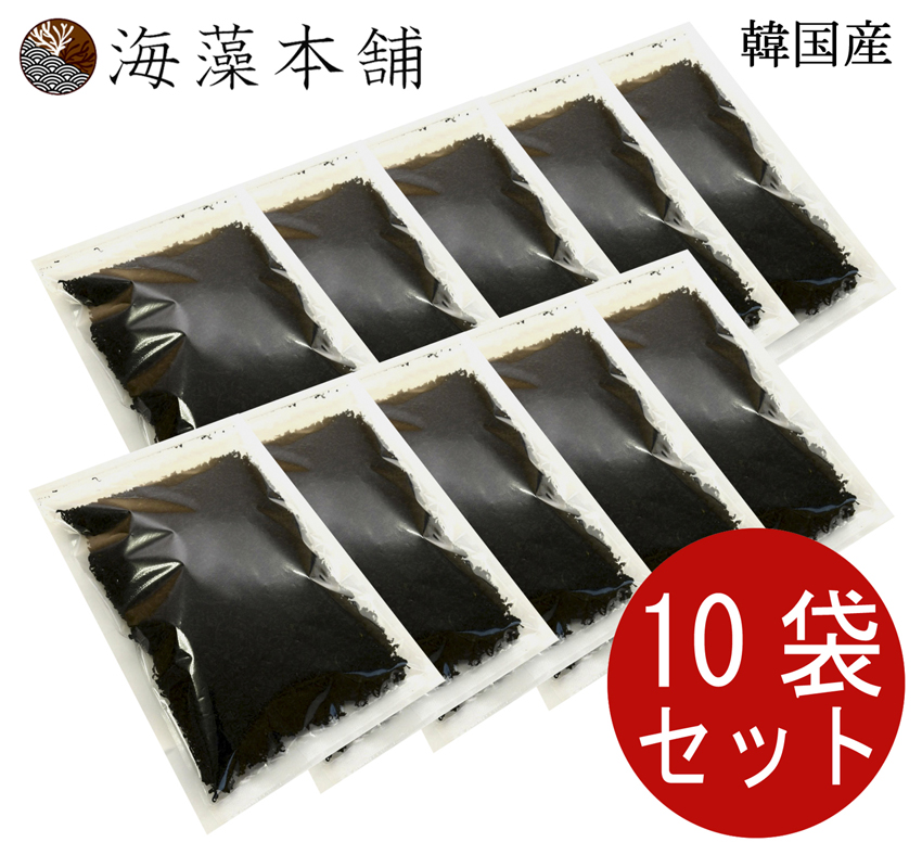 カットわかめ 韓国産 500g × 10セット 保存食