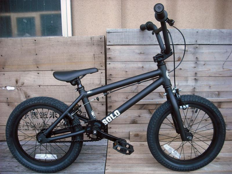16インチ BMX【DURCUS ONE 18年モデル SOLO MAT-Blackカラー】キッズBMX#キッズバイク・FREESTYLEバイク・キッズ用BMX#FREESTYLEバイク/ストリート用BMX#BMX子供用【送料無料】