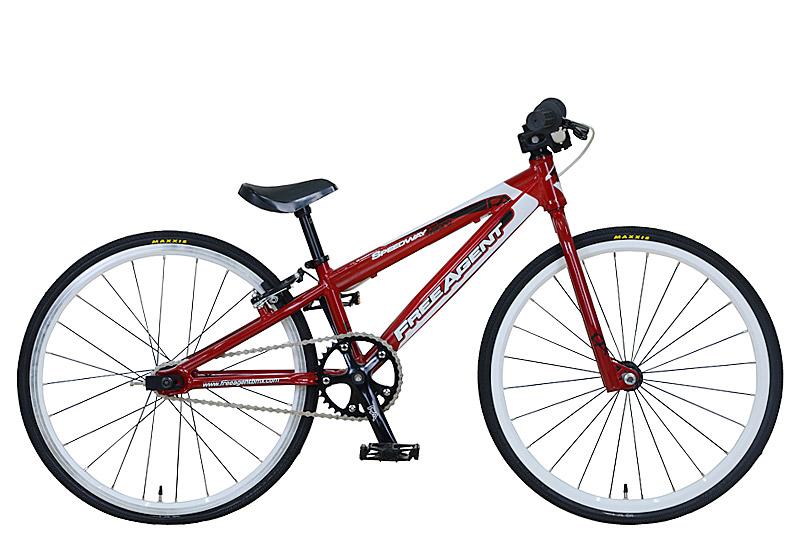 BMX 子供 マイクロ レーサー FREE AGENT speedway Micro Red オリンピック ゴールドメダル ワールドチャンピオン ブランド フリーアージェント キッズ racer 適応身長 120cm以下