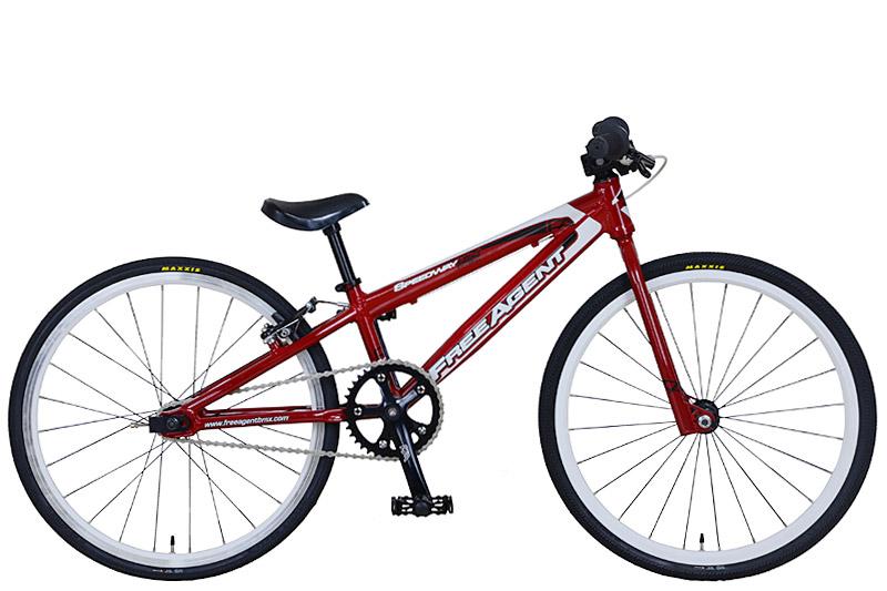 BMX 子供 レーサー ミニ FREE AGENT speedway Mini Red オリンピック ゴールドメダル ワールドチャンピオン ブランド フリーアージェント キッズ racer 適応身長 120cm~130cm