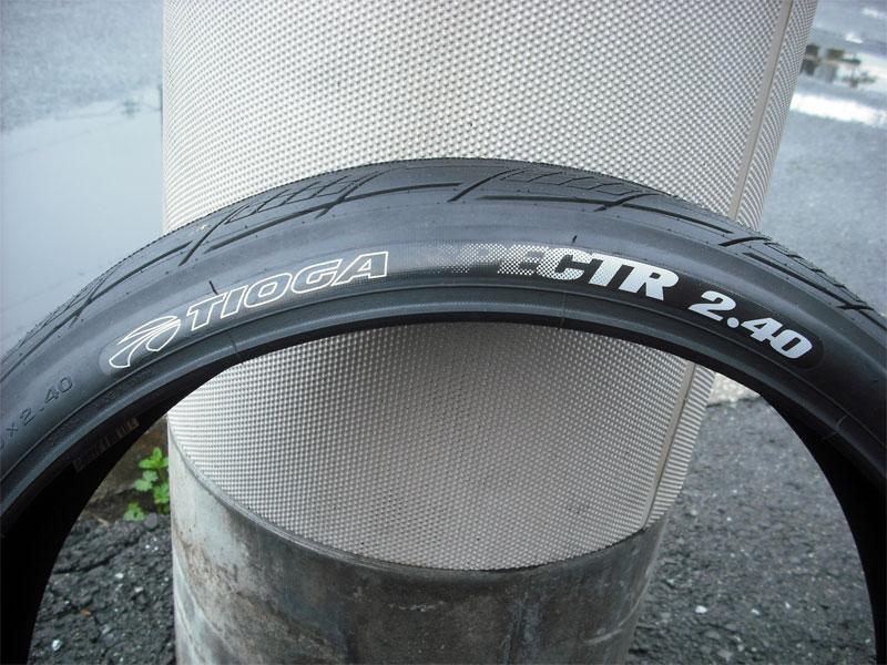 BMXタイヤ【TIOGA スペクトR 20x2.40 Tire】ストリート向きタイヤ・20インチタイヤ・太いタイヤ