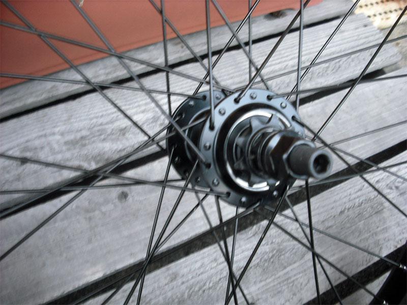 フリーコースター【ARES COMP WHEEL 14mm REAR タイヤ・チューブ付き(セット済み) 】#フリコ車輪セット#freecoaster#フリーコースター車輪セット【】