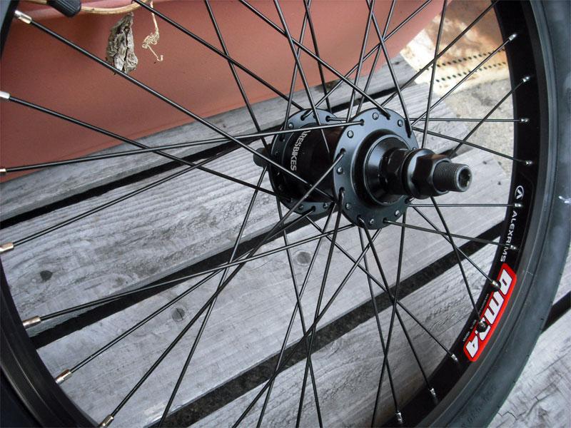 フリーコースター【ARES COMP WHEEL 14mm REAR タイヤ・チューブ付き(セット済み) 】#フリコ車輪セット#freecoaster#フリーコースター車輪セット