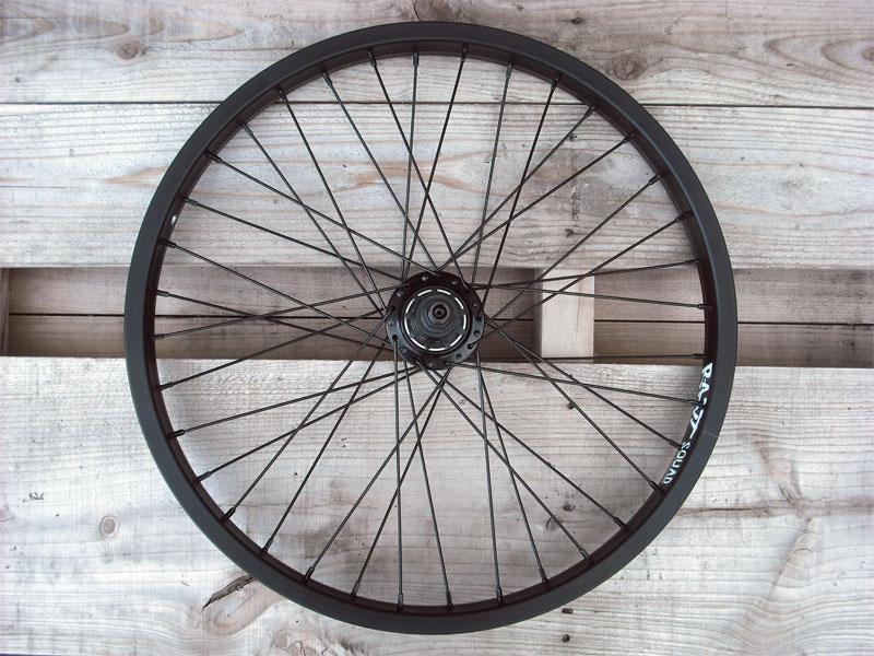 自転車 ホイール 車輪 BMX【RANT Moonwalker Freecoaster Wheel V2 RHD black】後輪セット フリーコースター