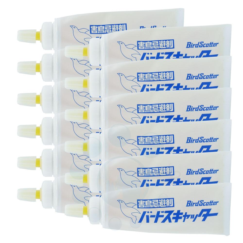 害鳥忌避剤 バードスキャッター 130g×12本