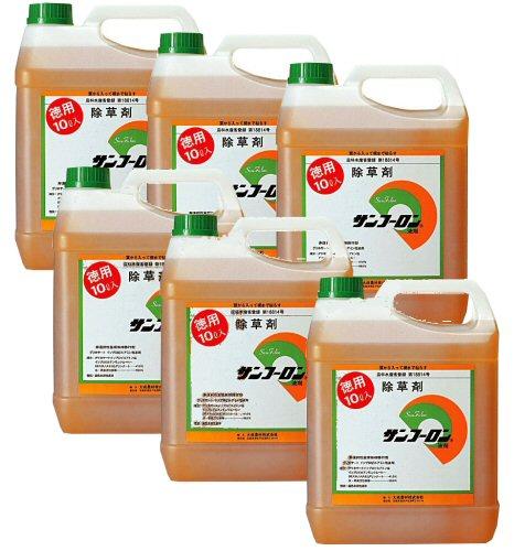 サンフーロン液剤 10L×6本セット グリホサート【送料無料】