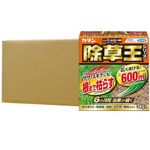 オールキラー粒剤[農薬]3kg/箱×6個 180日効果!持続型除草剤