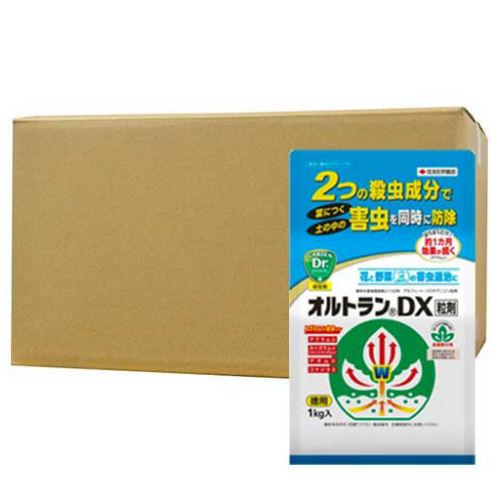 オルトランDX粒剤 1kg×12個 [殺虫剤] 花と野菜の害虫防除に最適の殺虫剤!