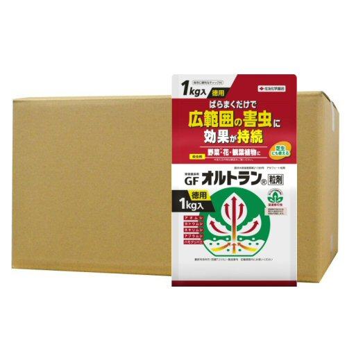 家庭園芸用GFオルトラン粒剤 1kg×12個 [殺虫剤] アブラムシ ヨトウムシ アオムシ駆除
