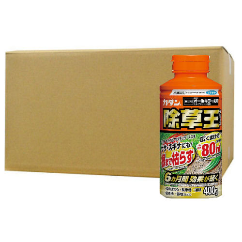 オールキラー粒剤[農薬]400g/ボトル×30個 180日効果!持続型除草剤!
