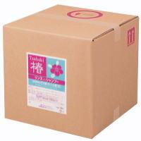 熊野油脂 ナチュラルシリーズ リンスインシャンプー「椿」 18L 業務用 【送料無料】
