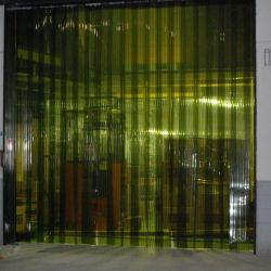 害虫侵入防止 異物混入を防止 オプトロンカーテン2-200L(2mm厚×200mm幅) 30m巻 リブ付防虫カーテン 【送料無料】