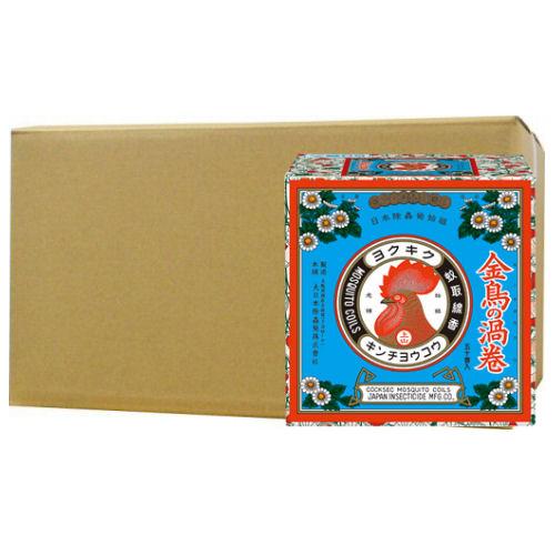 金鳥の渦巻 50巻[缶]×12個 キンチョー蚊取り線香