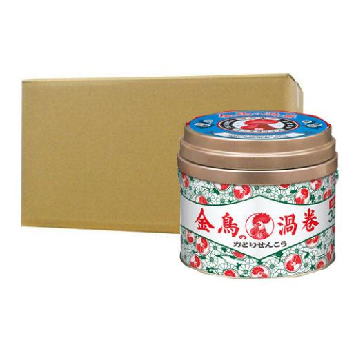 金鳥の渦巻 30巻[缶]×24個 キンチョー蚊取り線香