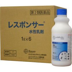 レスポンサー水性乳剤 1L×6本 チャバネゴキブリ駆除【第2類医薬品】[害虫駆除専門業者用]