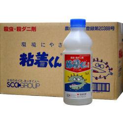 粘着くん液剤 1L×10本 殺虫・殺ダニ剤 農薬 デンプン液剤殺虫剤