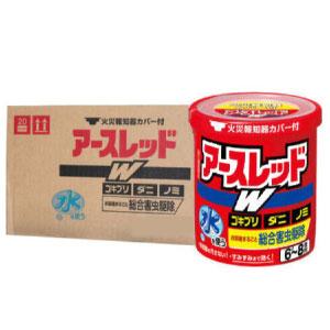 ゴキブリ、ダニ、ノミ駆除 アースレッドW 6-8畳用 10g×30個【第2類医薬品】