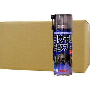 コウモリ忌避スプレー スーパーコウモリジェット 420ml ×24本/お買い得ケース購入!家に住み着いたコウモリ(蝙蝠)を強力噴射で追い出し効果 【送料無料】