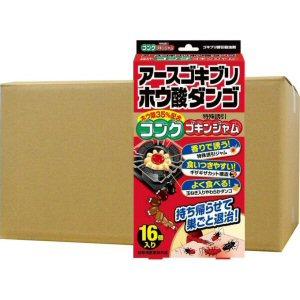 アースゴキブリホウ酸ダンゴ コンクゴキンジャム 16個入×36箱 [防除用医薬部外品]