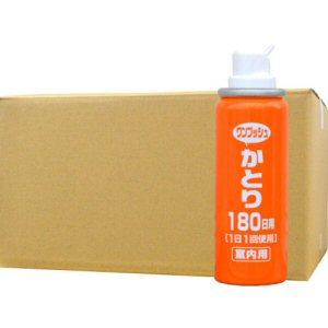 1日1回ワンプッシュ、蚊のいない空間を作る、蚊対策 蚊駆除 Wトラップ ワンプッシュかとり 180日用×40本