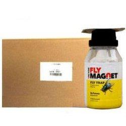 ハエ クロバエ キンバエ ギンバエ 誘引捕獲器フライマグネット(誘引剤1袋付き)×12個
