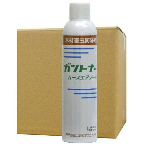 シロアリ駆除用スプレー ガントナー ムースエアゾール400ml×6本【送料無料】