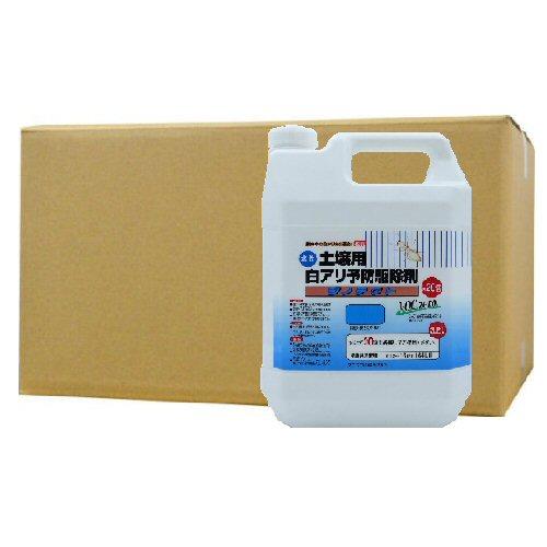 シロアリ 白あり 土壌用 白アリ予防駆除剤 水性 ジノテクト 3.2L×4 土壌用 ケミプロ化成