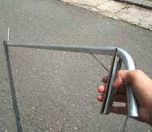 蛇捕獲棒 ヘビ捕獲棒 ヘビを安全に捕獲!軽量なアルミ製 日本製 【送料無料】