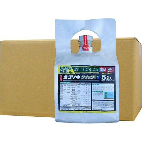 除草剤 ネコソギクイックプロFL 5L×4本 ソーラー用地用