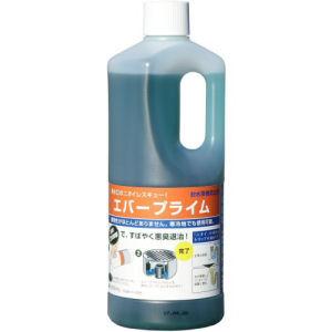 排水口のニオイレスキュー エバープライム 1L×10本 [封水蒸発防止液]悪臭対策