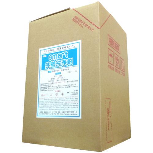 スマート 外壁洗浄剤 18L [タイル等の水垢、サビに]