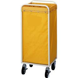 山崎産業 コンドル リサイクルカート Y-4(収納袋) C251-004X-MB 85L 黄色 【送料無料】