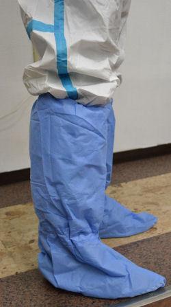 感染防止服用 ブーツカバー 50枚/箱×3箱/ケース[150枚・75足分/ケース] 【送料無料】