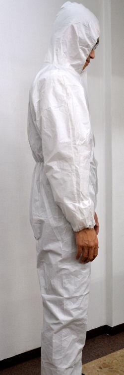 フード付きカバーオール XLサイズ 1枚/袋・50袋/ケース【送料無料】