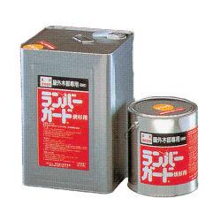 ミヤキ ランバーガード外部用 18L 木材専用保護塗料 [ウォールナット]【送料無料】