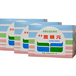 生ゴミ用発酵促進脱臭剤 ネオ豊穣元 1kg[250g×4袋パック入]×20箱 無臭元工業 お得なケース購入!【送料無料】