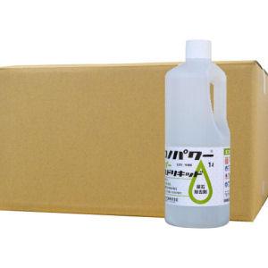 業務用尿石除去剤 エコノパワー スーパーマイルドリキッド 1L×12本セット トイレ 悪臭対策 黄ばみ落とし 小便器 トラップ清掃