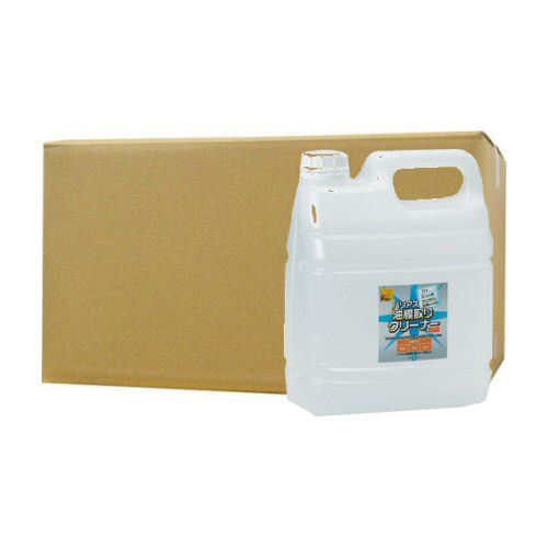 バリアス油膜取りクリーナー 4L×4本 [除菌油膜取り洗剤]