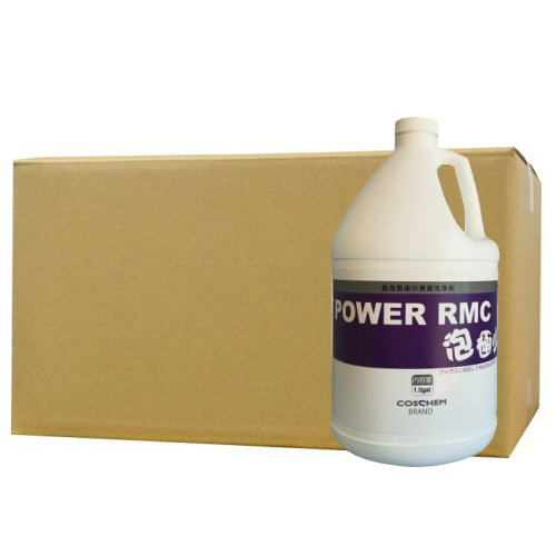 パワーRMCクリーナー泡極少 3.78L×4本 【多目的用アルカリ性洗剤】【北海道・沖縄・離島配送不可】