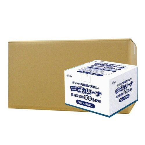 ポット用洗浄剤 ピカリーナ 30g×30袋入×6個ケース【北海道・沖縄・離島配送不可】